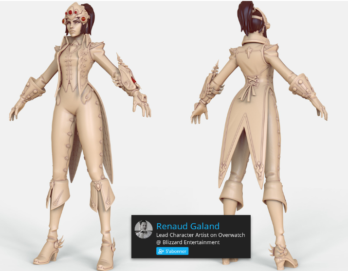 Exemple de high poly