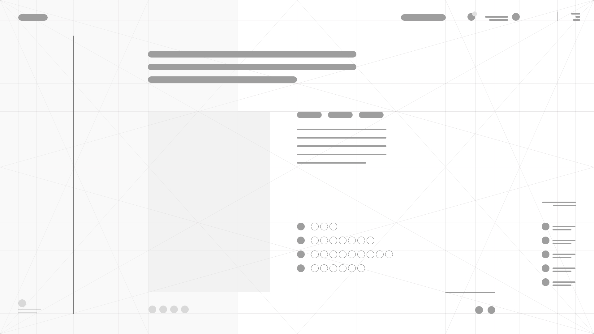 MagicDeck Canon Grid Wireframe Exemple